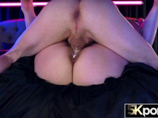 5KPORN – Anna Blaze Wraps Her Massive Tits Around Cock