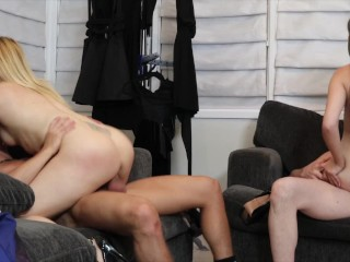 Hot Swinger couple gets down and dirty on the weekend Blaten Lee, Flynt Dominick, Luna Rival