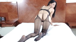 A wind cums from Latin America to make all of us to join Pantyhose Academy