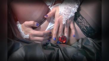 Sissy Crossdresser Enjoys Gentle Anal Sex And caresses 3 Toys