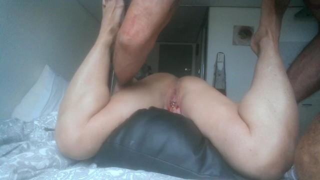 Cap dagde nude - Juicy gets anal cream pie in cap darge