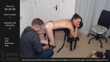 Interactive Livestream 007 - First go with the new spanking bench