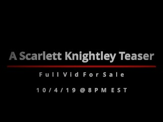 Preview 1 of Scarlett Knightley - Topless Blowjob Tit Fuck (Teaser)