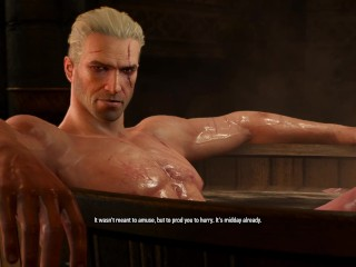 The Witcher Episode Bath Time at Kaer Morhen