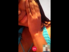 Cute Latina 18 yold girl needs money, shows & reacts to cumshot | whatsapp