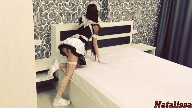 Hot maid babes xxx Hot french maid gets roughly fucked by the tenant - natalissa