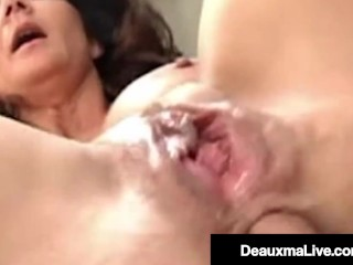 In Debt Cougar Deauxma Fucks Hard Cock Bookie To Repay Bet Deauxma