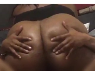 Caught Riding His Face and Dick In His Grandma Bed
