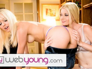 WebYoung Hot Tutor helps Teen with Chemi Charlotte Stokely, Sierra Nevadah