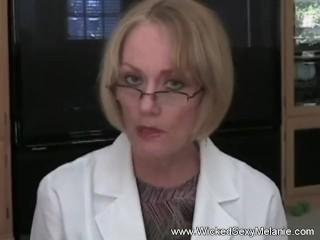 Dr Granny Big Time Blowjob Examination