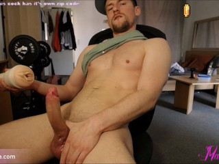 Fifth orgasm of that day Still shooting cum Fun with very wet Pussy