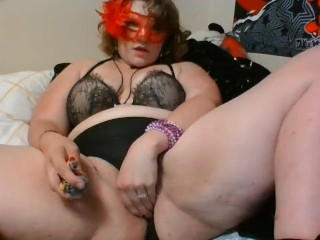 THICC Goth Bae Gets High and Soaks Her Victorias Secret Panties CREAMY