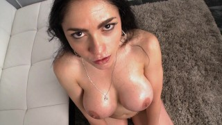 CULIONEROS – Curvy Latina Goddess Marta La Croft Making Her Porn Debut