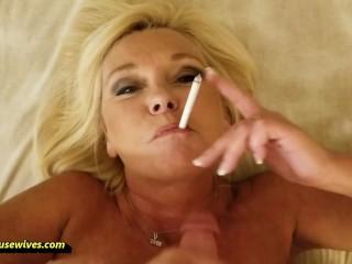 Blowjob Cowgirl Facial as She Smoke Ms Paris Rose, Paris Rose