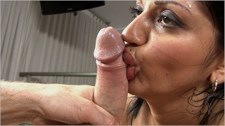 BANGBROS - Latin MILF Cielo Shakes Her Big Ass On Brick Danger's Dick