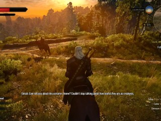 The Witcher Episode Geralt Plays Gwent