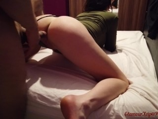 Thick Sex Toy In My Pussy And My Best Friend Hard Cock In My Ass Part