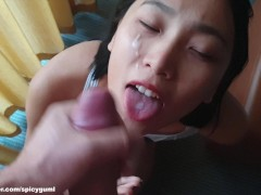 June Liu / SpicyGum - Asian Blow Job in Berlin (刘玥) (Free for Fans)