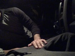 Curious straight coworker lets me record his first gay blowjob