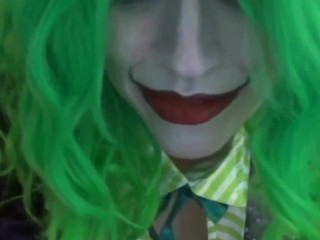 Martha Wayne Female Joker Gets Off cosplay geeky af happy halloween