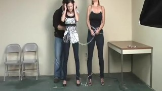 Lola And Christina Get Busted