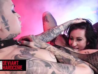 Deviant Hardcore Tattoed Goths Leigh Raven Lily Lane love Leigh Raven, Lily Lane