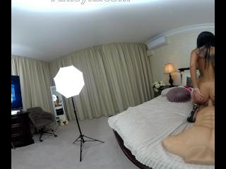 VR Anisyia Livejasmin first ever POV k Virtual Reality Video