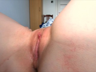 Eating and Fucking Pussy - Amateur Teen Clit Licking Close Up and Creampie