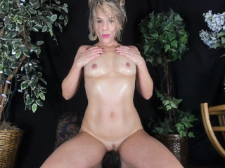 LUBED POV TANLINE BUBBLE BUTT STEP MOM COCK TEASE