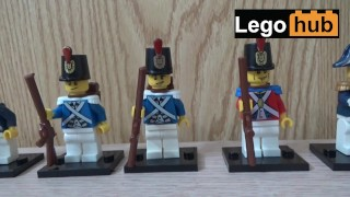 Lego minifigures of sexy British Imperial soldiers