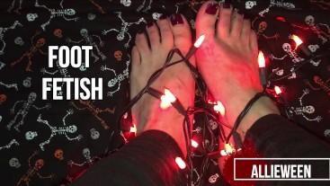 4. Halloween Foot Fetish