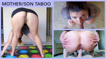 """Cum Play Twister with """"step""""Mommy"""