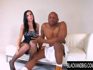 Black And Big - A Merciless Interracial Pounding for Aria Aspen
