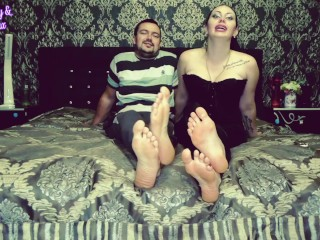 Financial trap for pathetic bisexual foot bitch from Alpha cuple