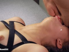 Amateur No Mercy Deepthroat Extreme Throat Bulge and Brutal Cum in Throat!