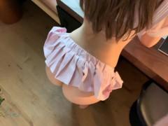 POV Horny cheerleader makes him cum inside her tight pussy (Short)