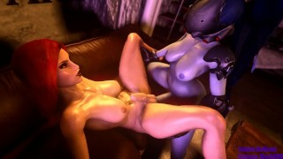 VaM Futa - Widow does not bite