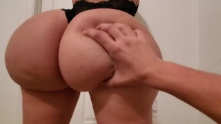 crystal lust getting her bubble butt Worshiped in sexy Lingerie
