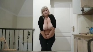 Touching pussy very wet and horny