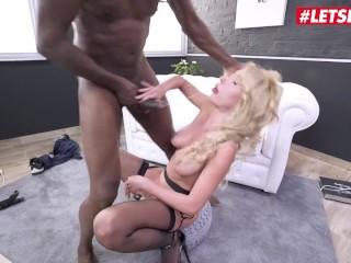 LETSDOEIT - Ukrainian Slut Ass Fucked To Her Limit By a Thick BBC