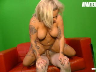AmateurEuro Petite German Wifey Has Rough SEX During a Photoshoot