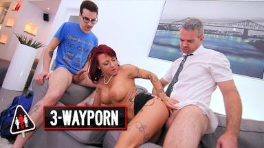 I'm Dorri, Sexy Maid gets fucked huge dildo masturbation, orgasm.
