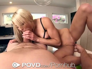 POVD Strawberry Foreplay Leads To Creamy Pussy Fucked