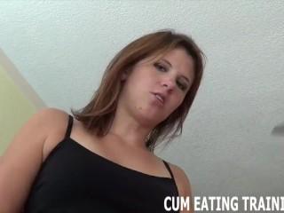 Cum Feeding Fetish And POV Femdom Videos