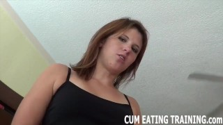 Cum Feeding Fetish And POV Femdom Videos