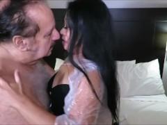 GasmaskGirl Ron Jeremy Me Love You Long Time
