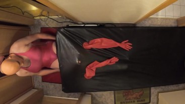 Living Doll go inside vacbed - doll vacbed experience with corset