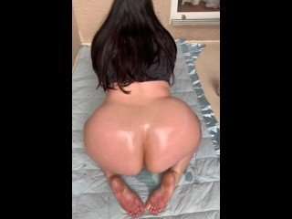 Marcy diamond shaking that big juicy booty hot milf