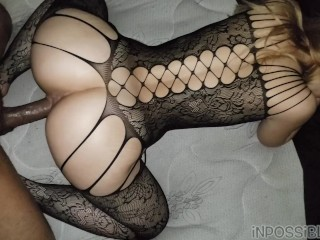 SLIM THICK PAWG GETS FUCKED WITH HER TIGHT LINGERIE BODYSUIT ON