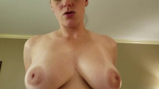Melanie Hicks - Young Milf w/ Perfect Natural Tits Bangs A Fan